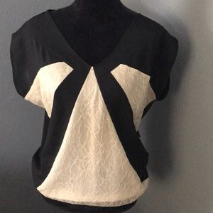 MM Culture By Miss Me Laced Blouse